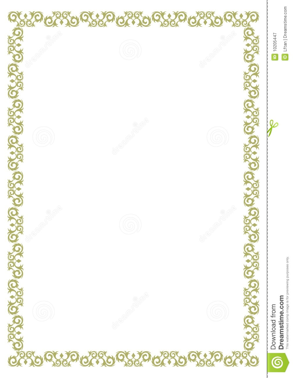 Certificate Border Royalty Free Photography Image 10205447 – Certificate Borders Free Download