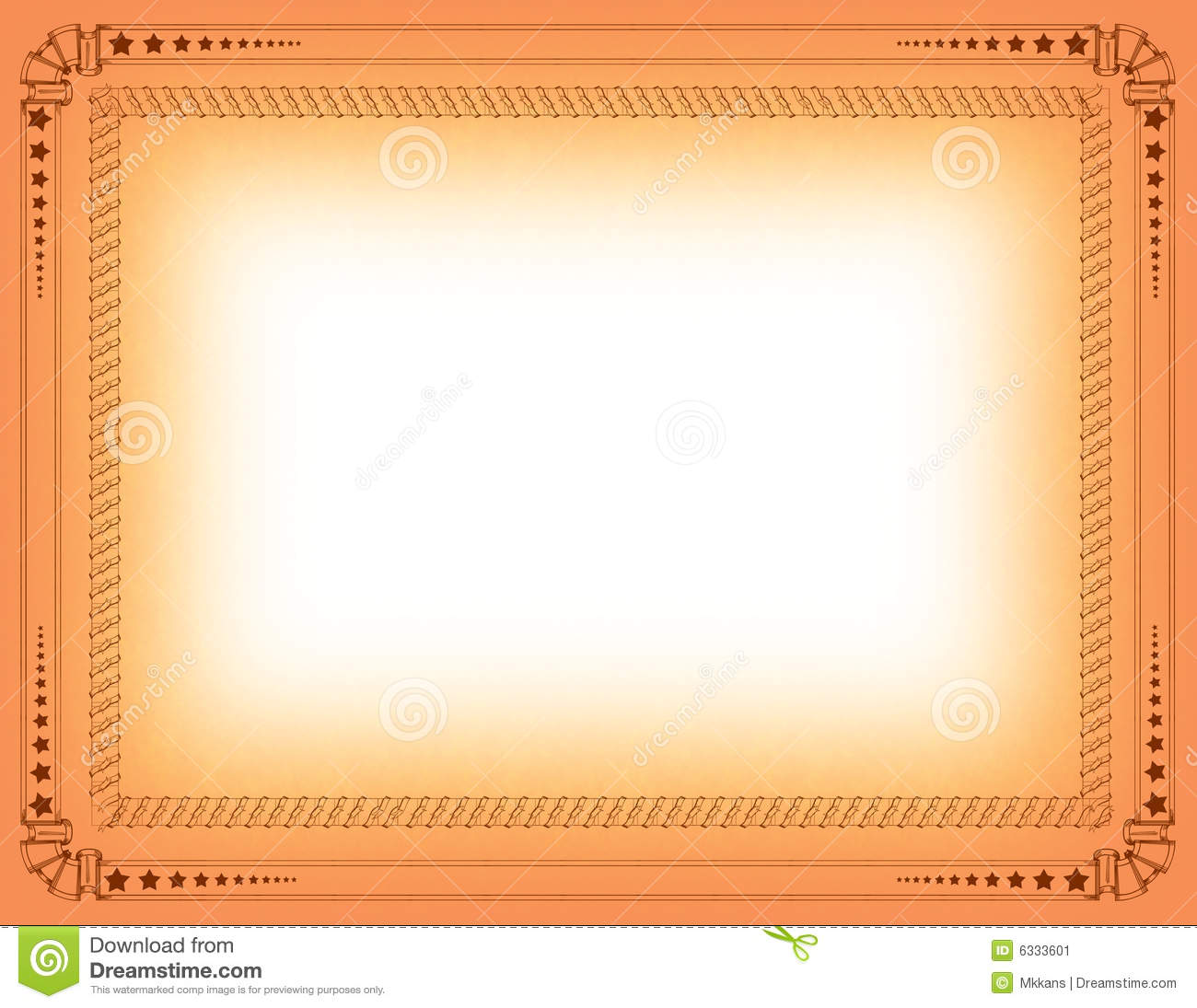 Brown border certificate template 1betcityfo Images