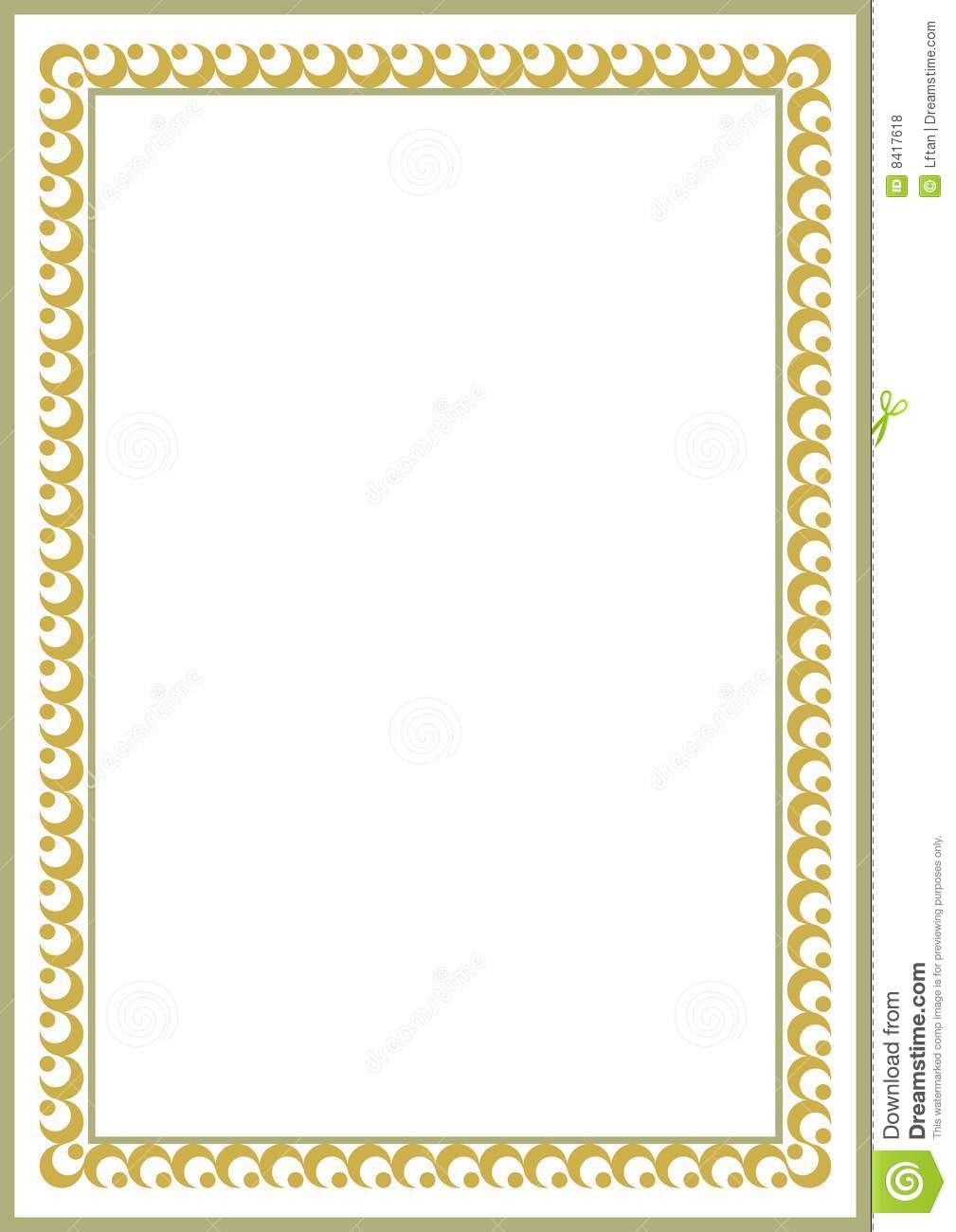Certificate border royalty free stock photos image 8417618 royalty free stock photo download certificate border yadclub Choice Image