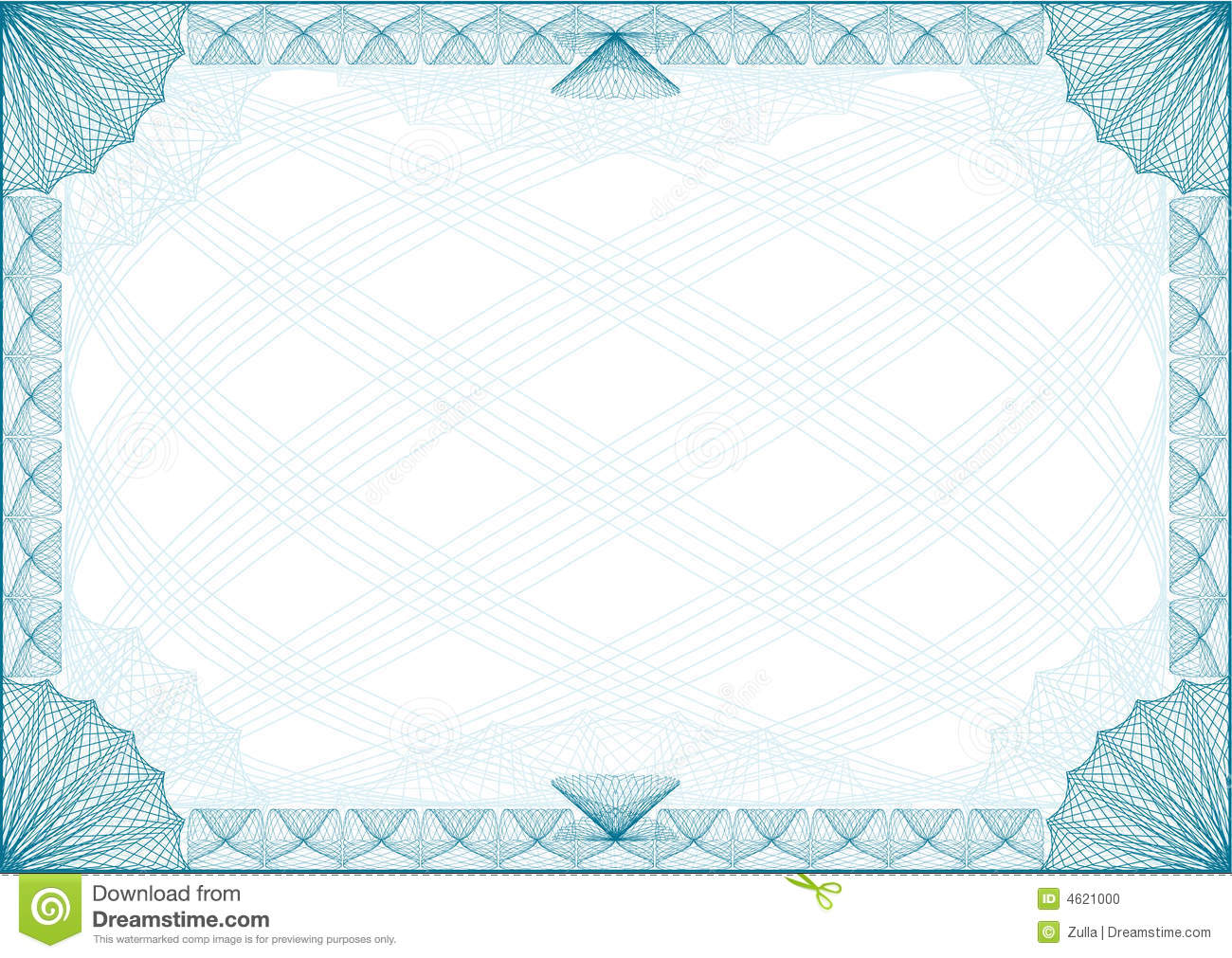 Certificate Frame Border Royalty Free Stock Photos Image 23498958