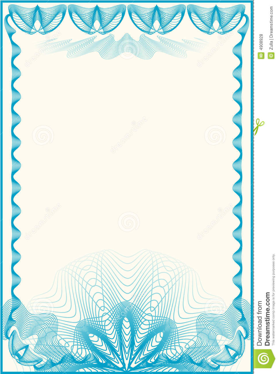 Certificate Border Letter Royalty Free Stock Photos - Image: 4908928