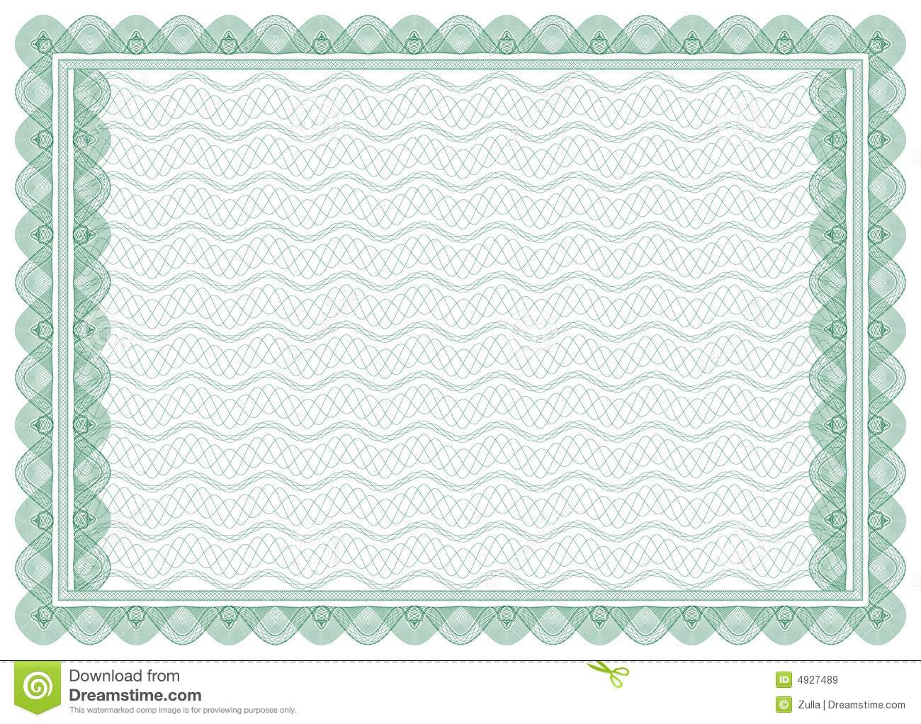 Certificate border letter stock vector illustration of design certificate border letter 1betcityfo Images