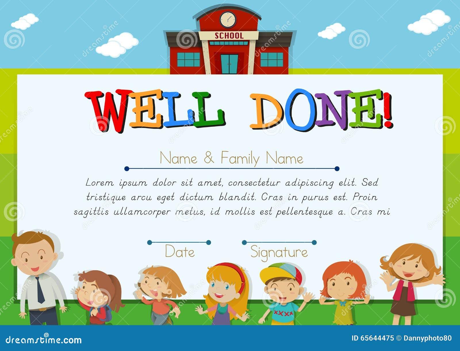 kid awards certificates