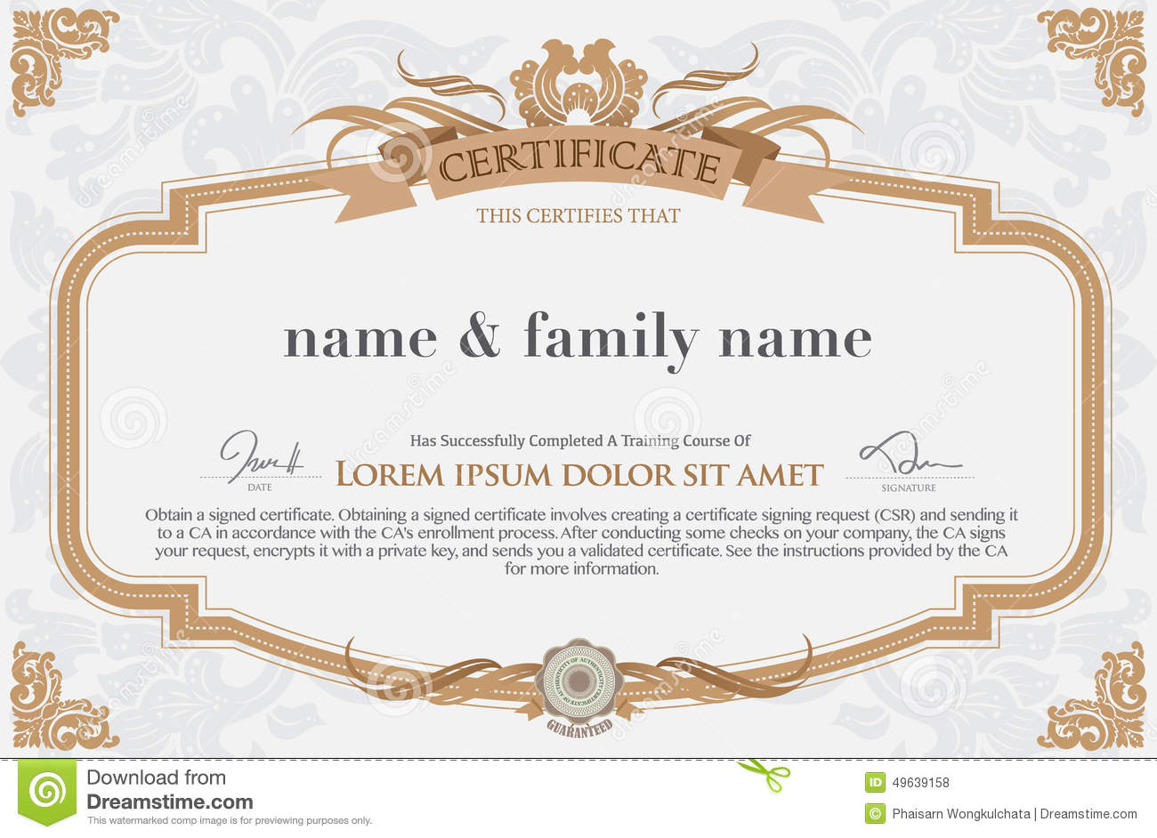 business gift voucher template - North.fourthwall.co
