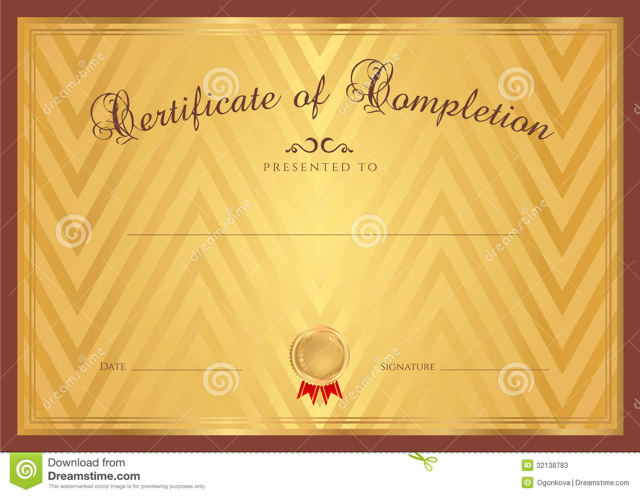 Certificate / Diploma Background (template) Stock Photos ...