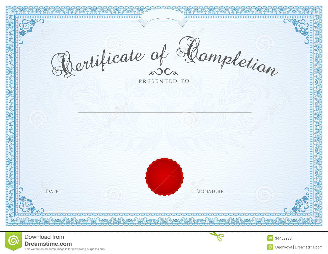 Certificate diploma background template floral stock vector certificate diploma background template floral yadclub Images