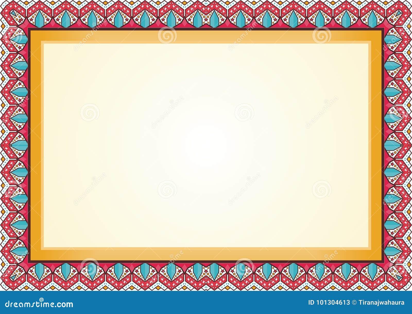 Certificate - Diploma Frame / Border Stock Vector - Illustration of ...