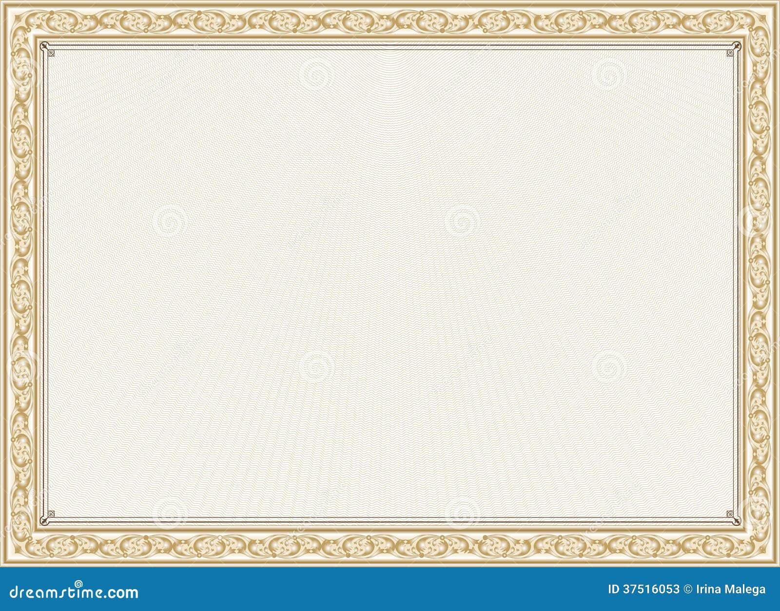Certificate Frame 8  5