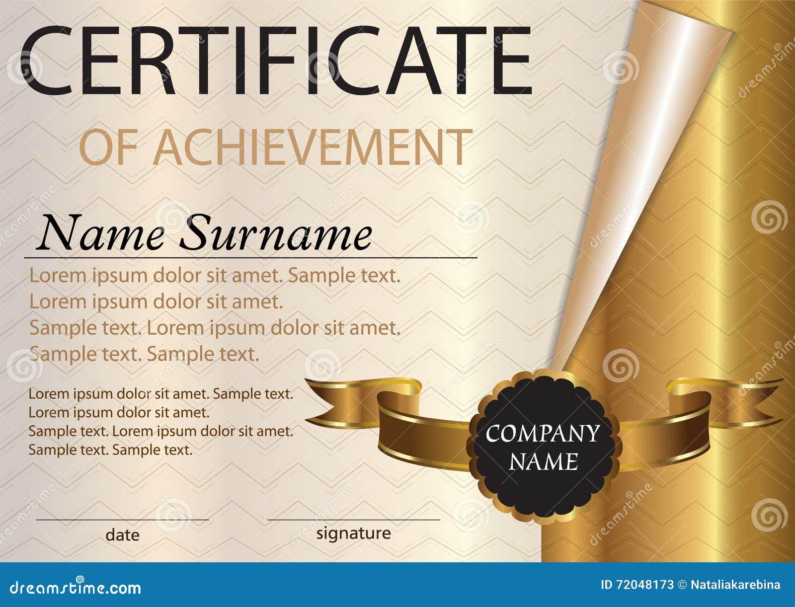 Winner Certificate Template Free