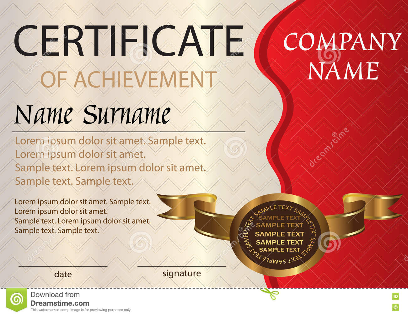 Certificate or diploma template award winner stock vector certificate or diploma template award winner yadclub Gallery
