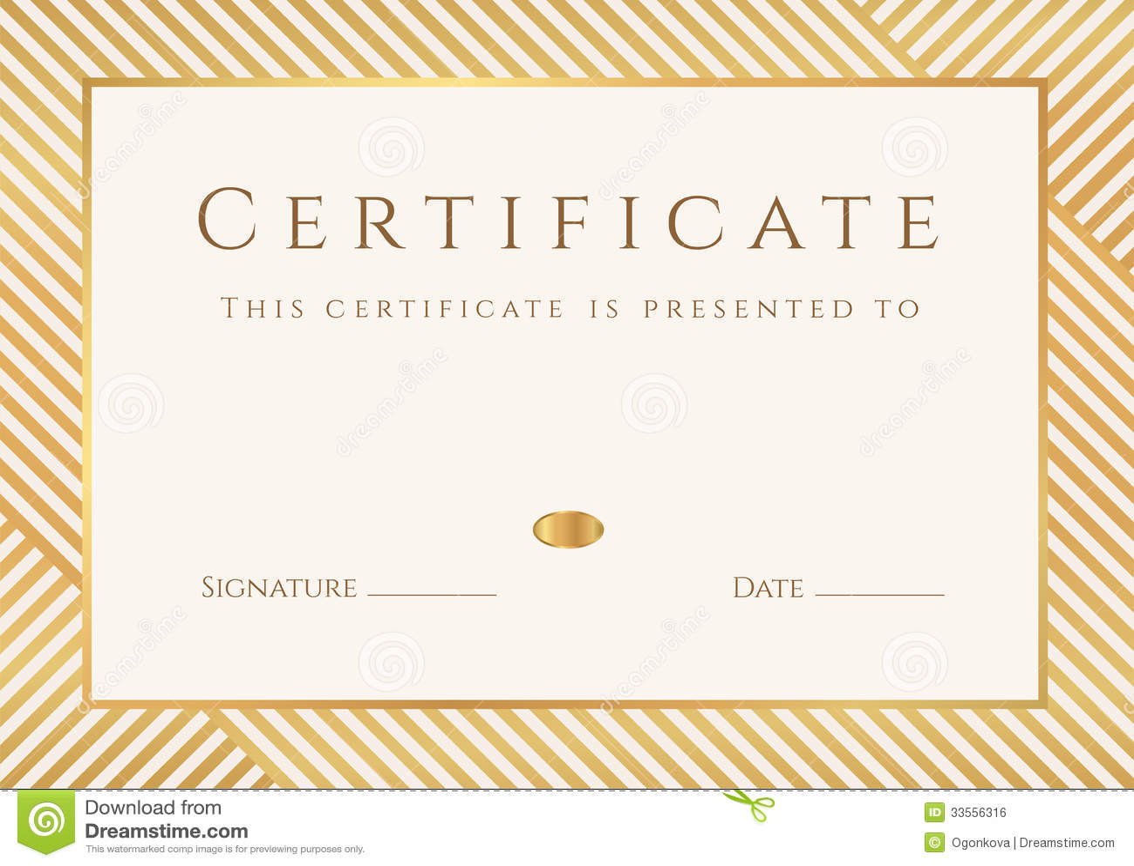 achievement award certificates templates
