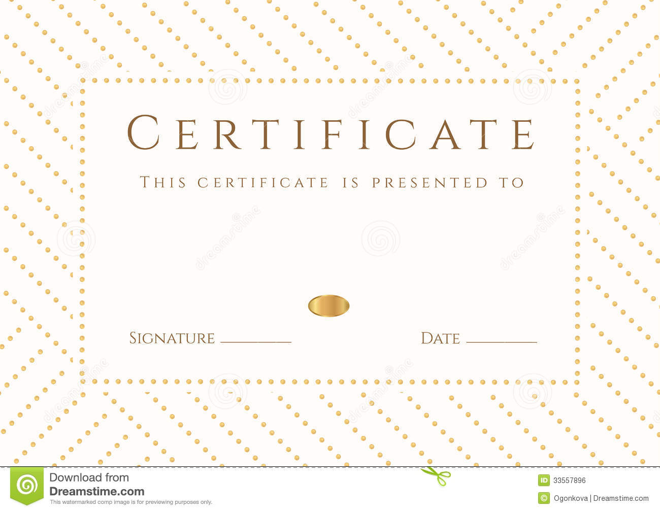 degree completion certificate sample