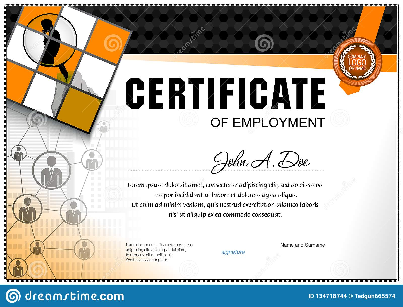 simple certificate of employment