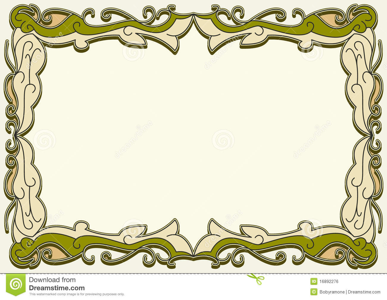 Certificate Frame Royalty Free Stock Image Image 16892276