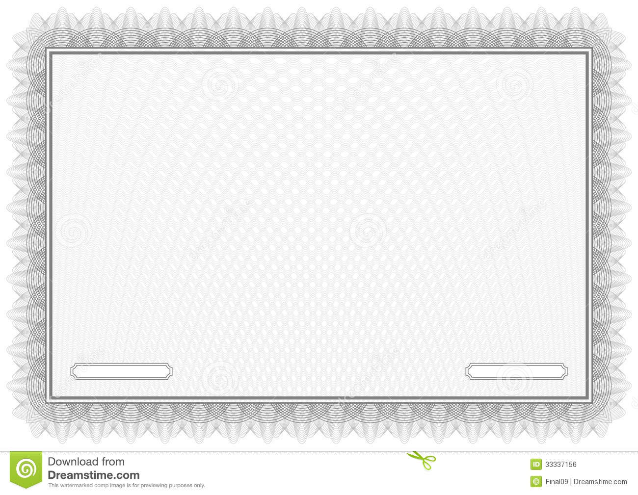 Certificate. Grey Vector Pattern Diplomas Royalty Free ...