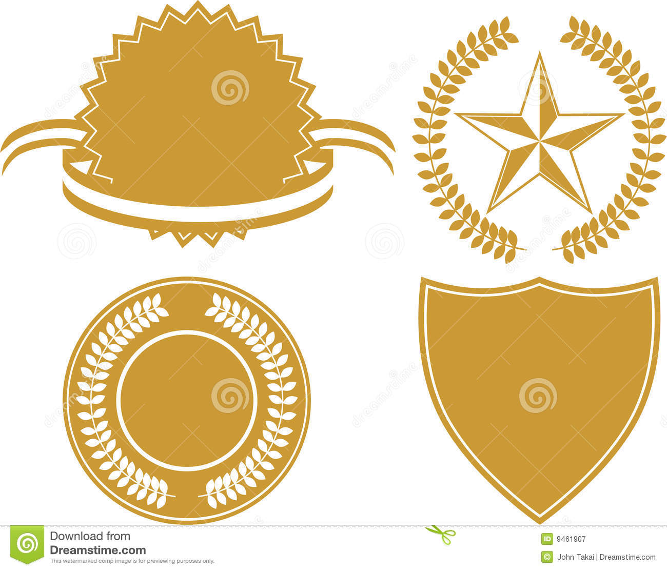Certificate Icon Set Royalty Free Stock Photography ...