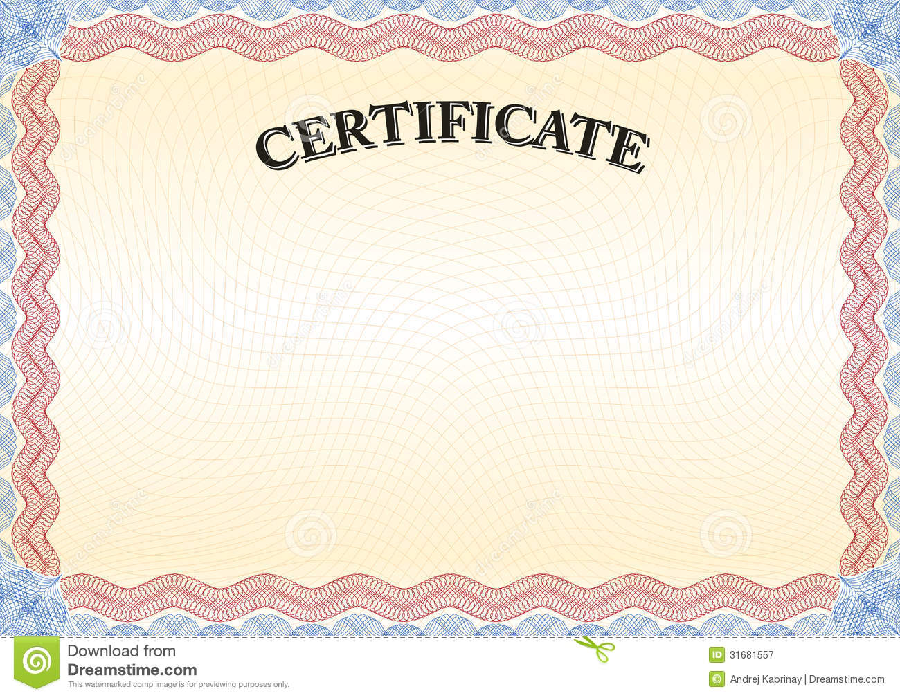 Certificate Red Border 3 Royalty Free Stock Photography ...