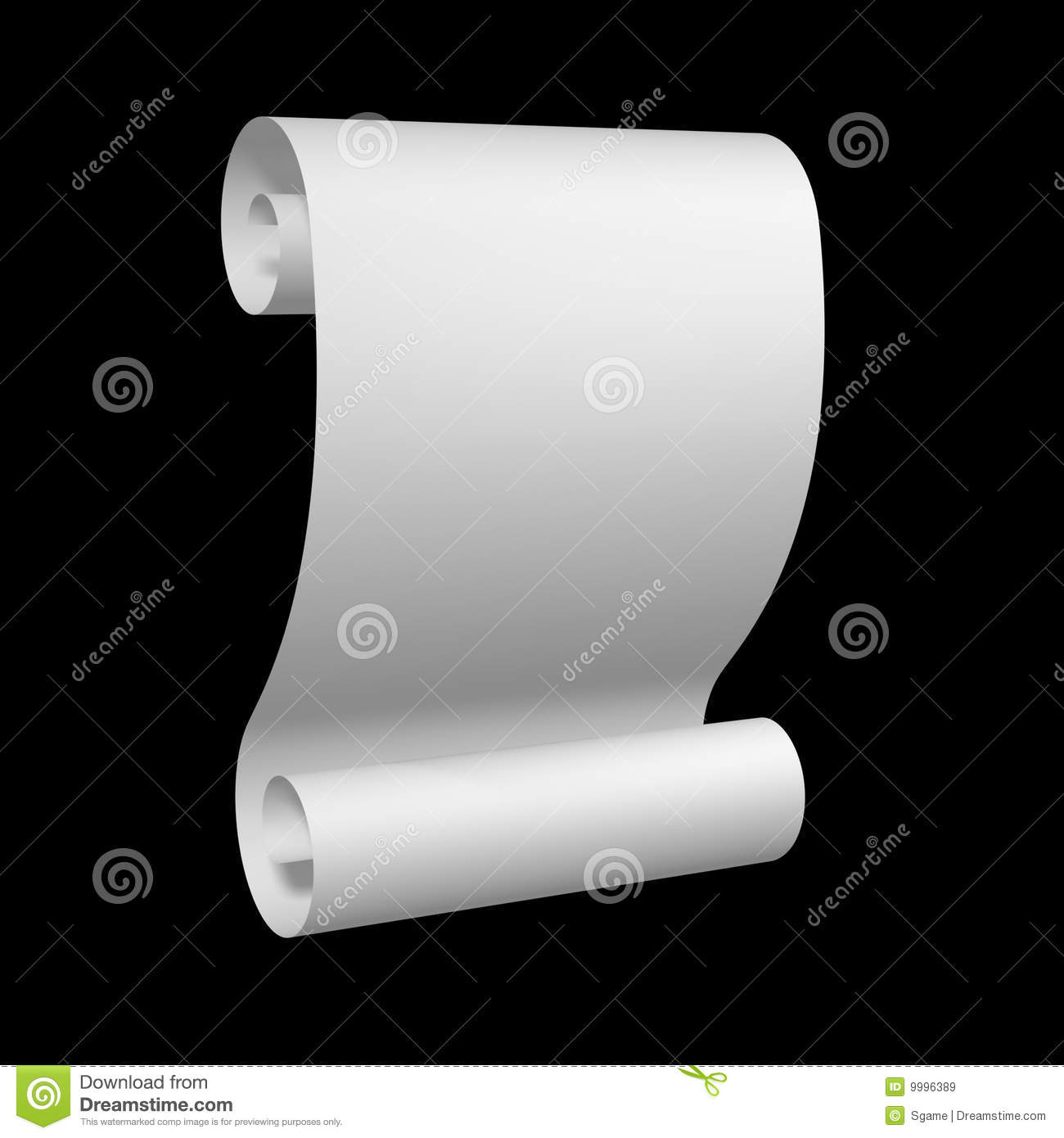 Certificate Scroll Royalty Free Stock Images - Image: 9996389