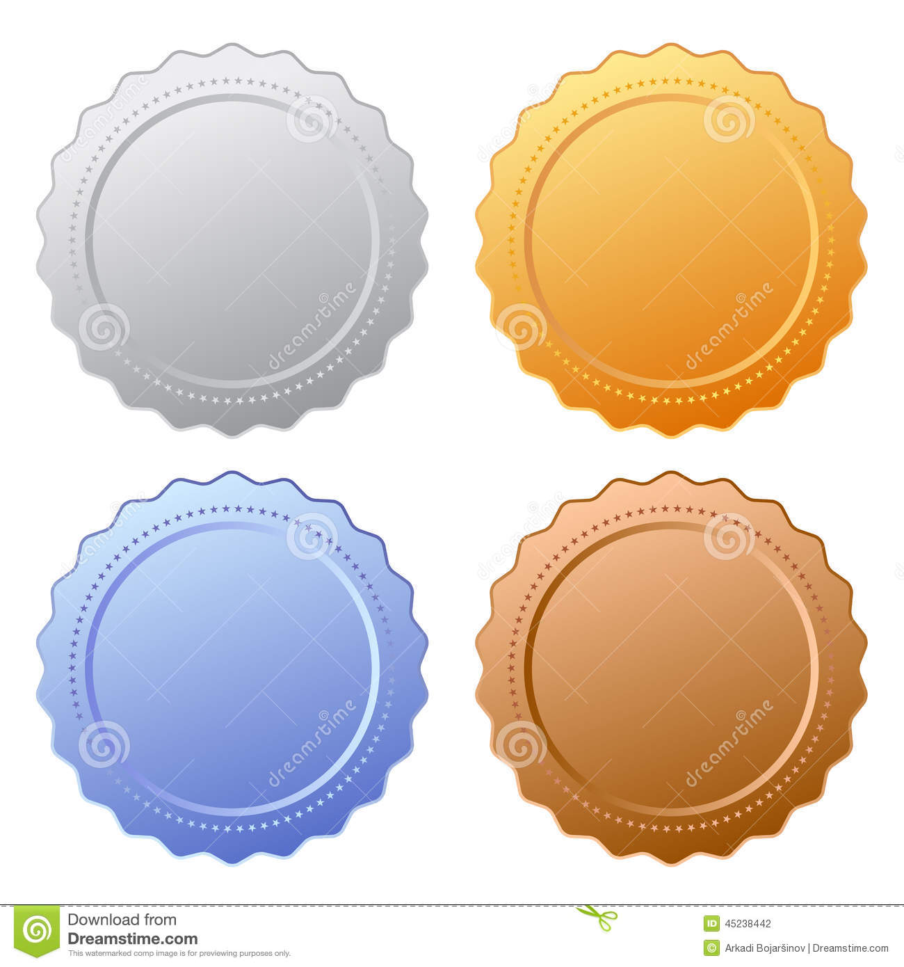 Winner certificate with seal stock sample booklet templates winner certificate with seal stock vector image 47193797 certificate seal icon icons set isolated white background yelopaper Images