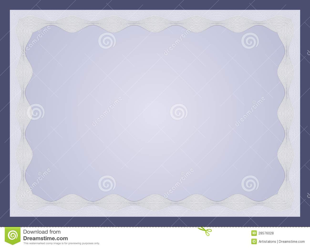 Certificate Template Royalty Free Stock Photos - Image: 28576028