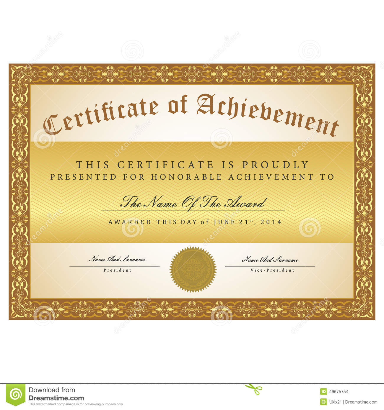 2 Certificates Templates Free Download Clip Art Security