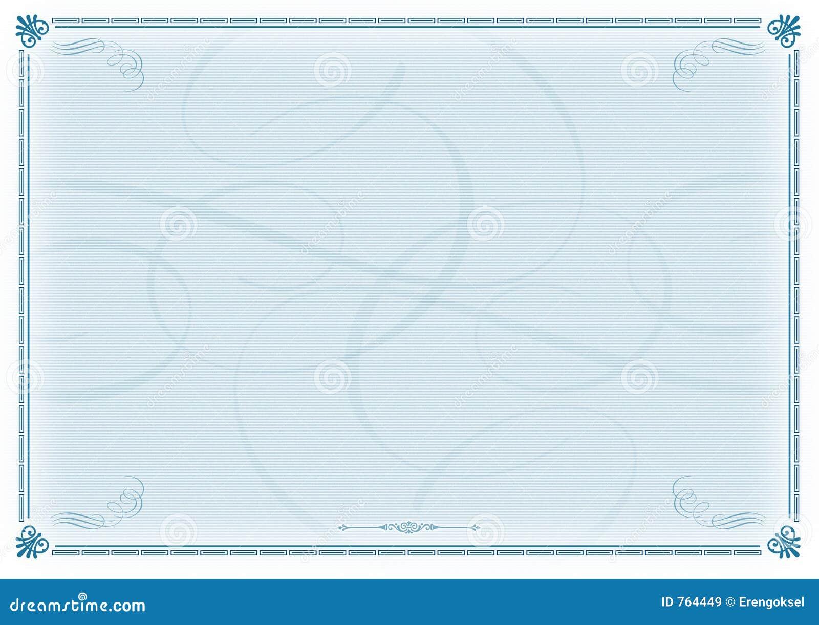 free blank training certificate template