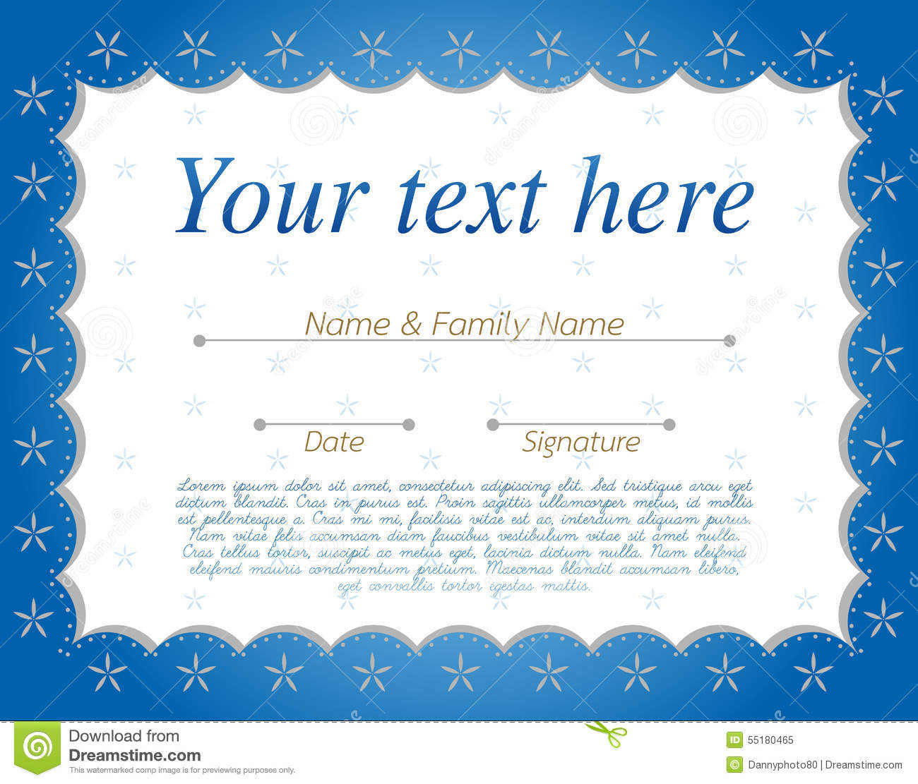 share certificate template word .