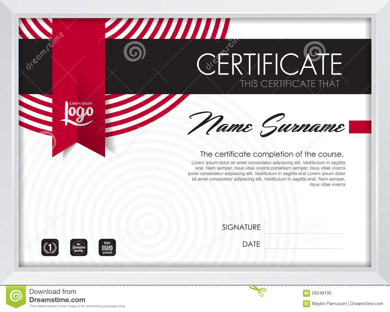 gift certificate blank template
