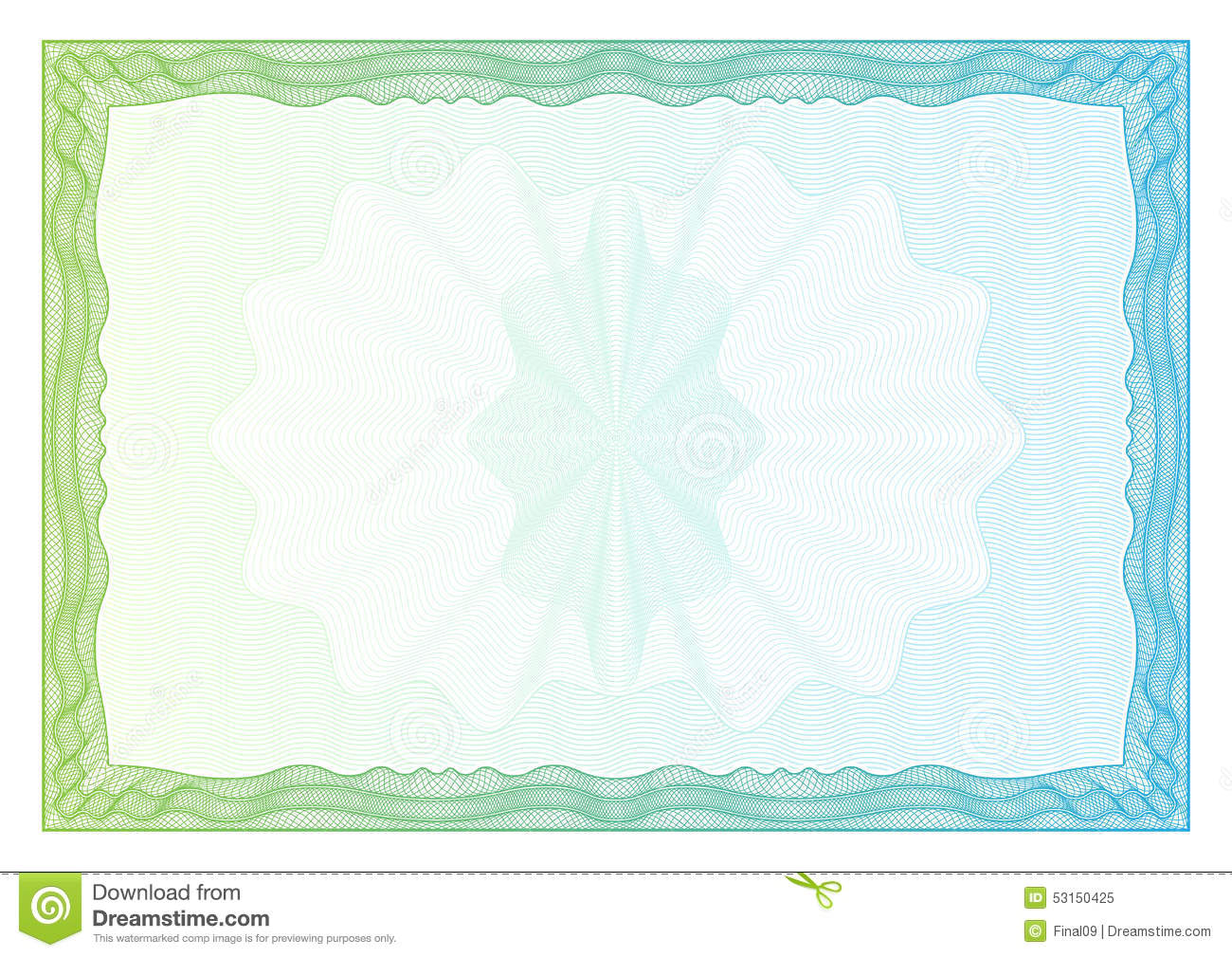 Certificate. Template Diplomas, Currency. Vector Stock ...