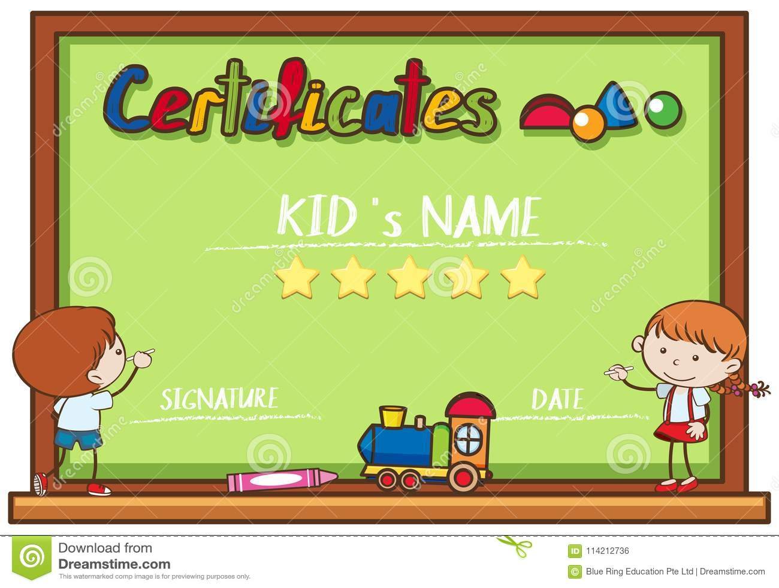 Name Template For Kids Towerdlugopisyreklamowe