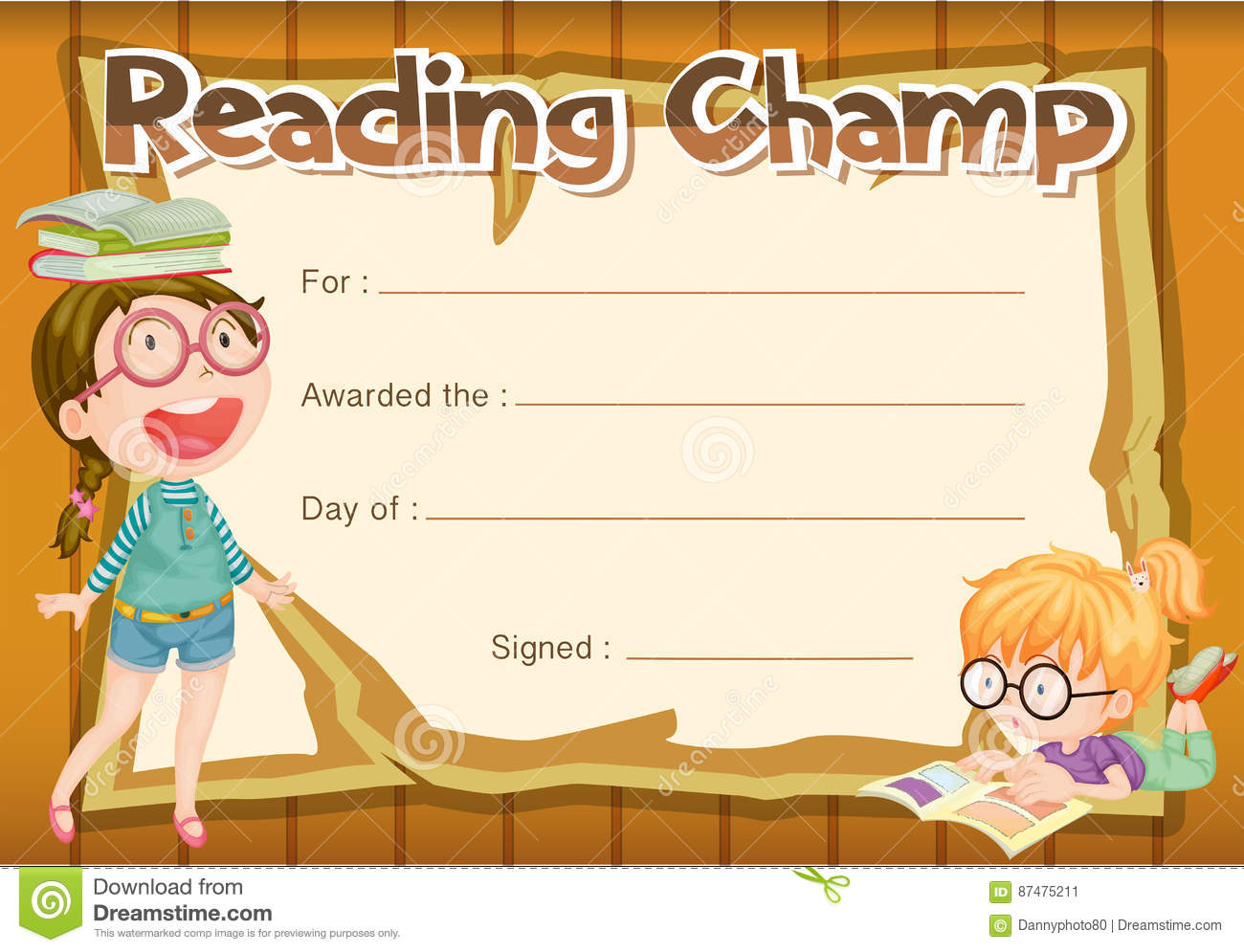 Reading certificate templates image collections templates free certificate templates reading image collections certificate summer camp certificate template images templates example free certificate yadclub Gallery
