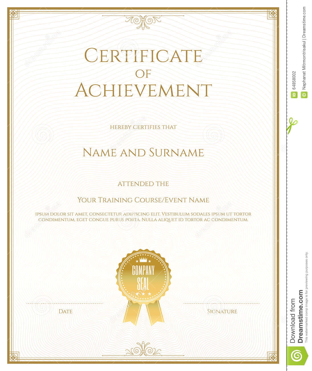 Create A Certificate Of Recognition In Microsoft Word Share Flipboard Email  Print Computer U2026 Download A Word Certificate Template Online.  Graduation Certificate Template Word
