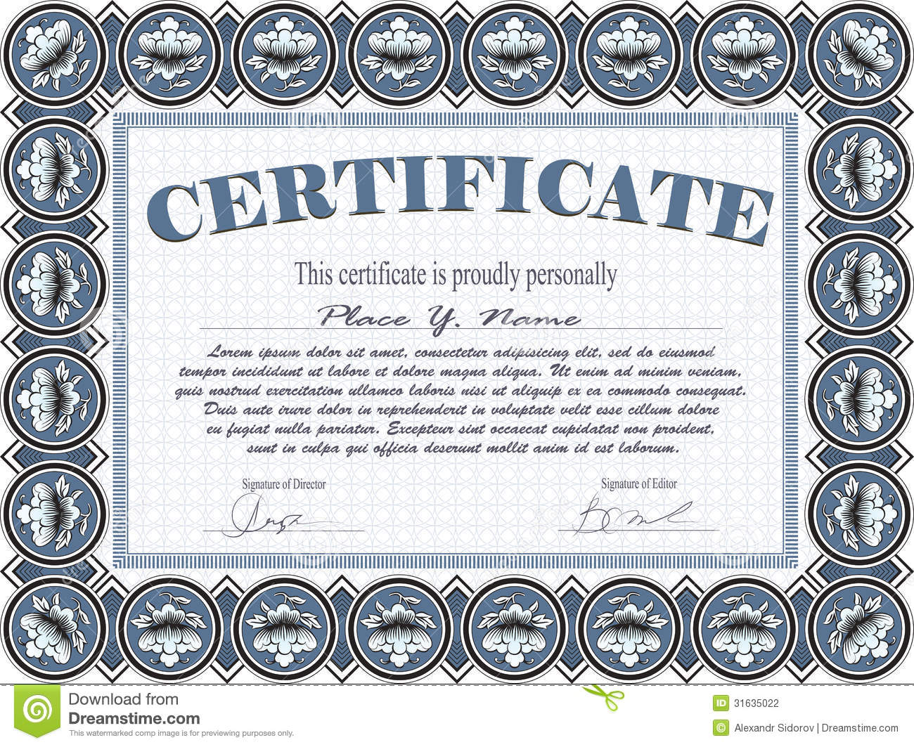 ... Worksheets Preschool Along With Training Award Certificate Template