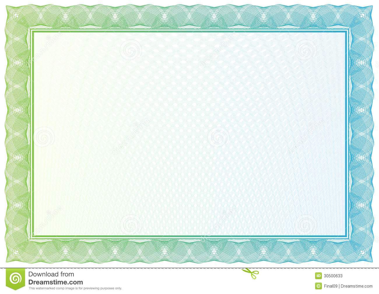 Certificate. Vector Pattern For Currency, Diplomas Stock ...