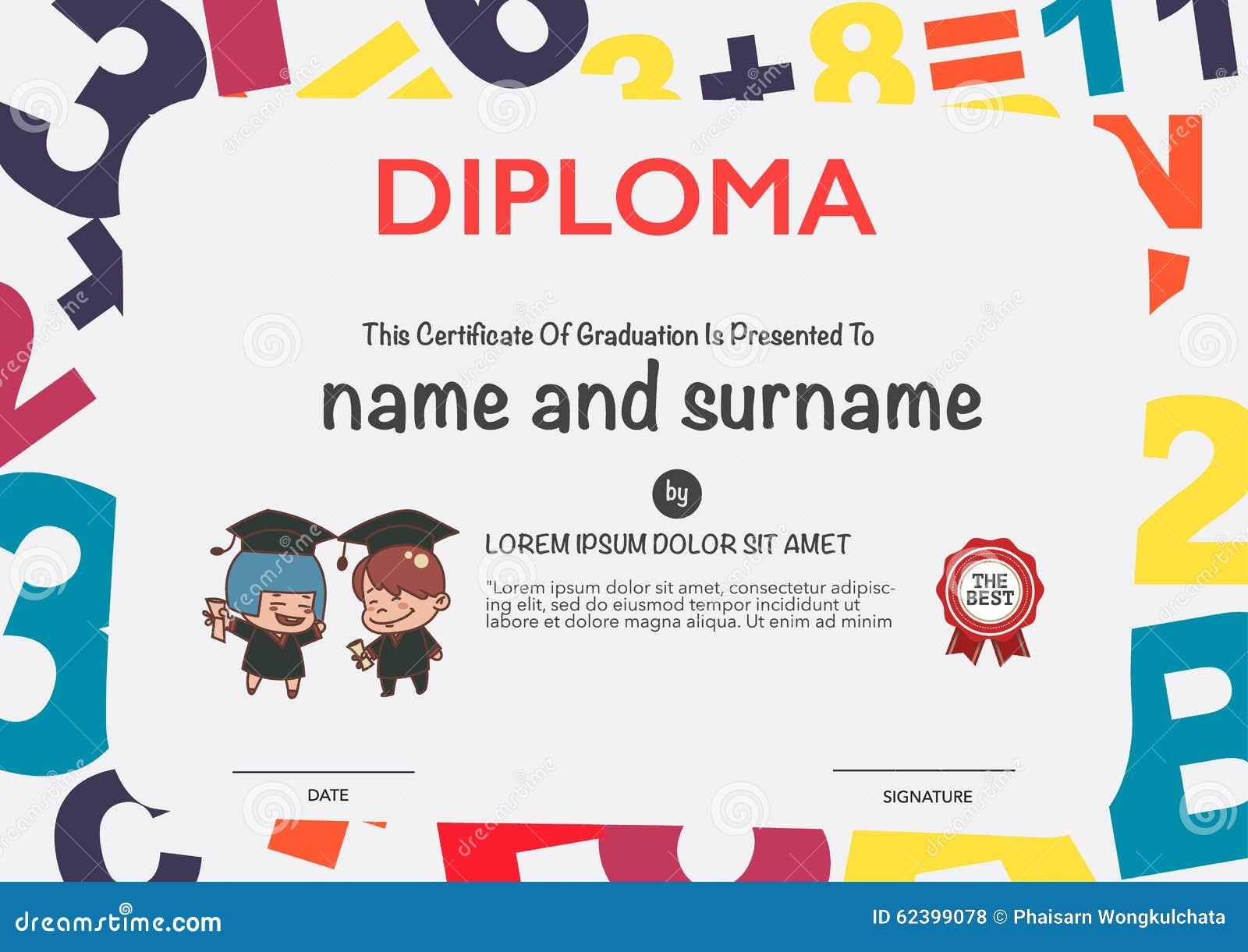 kindergarten certificates | just b.CAUSE