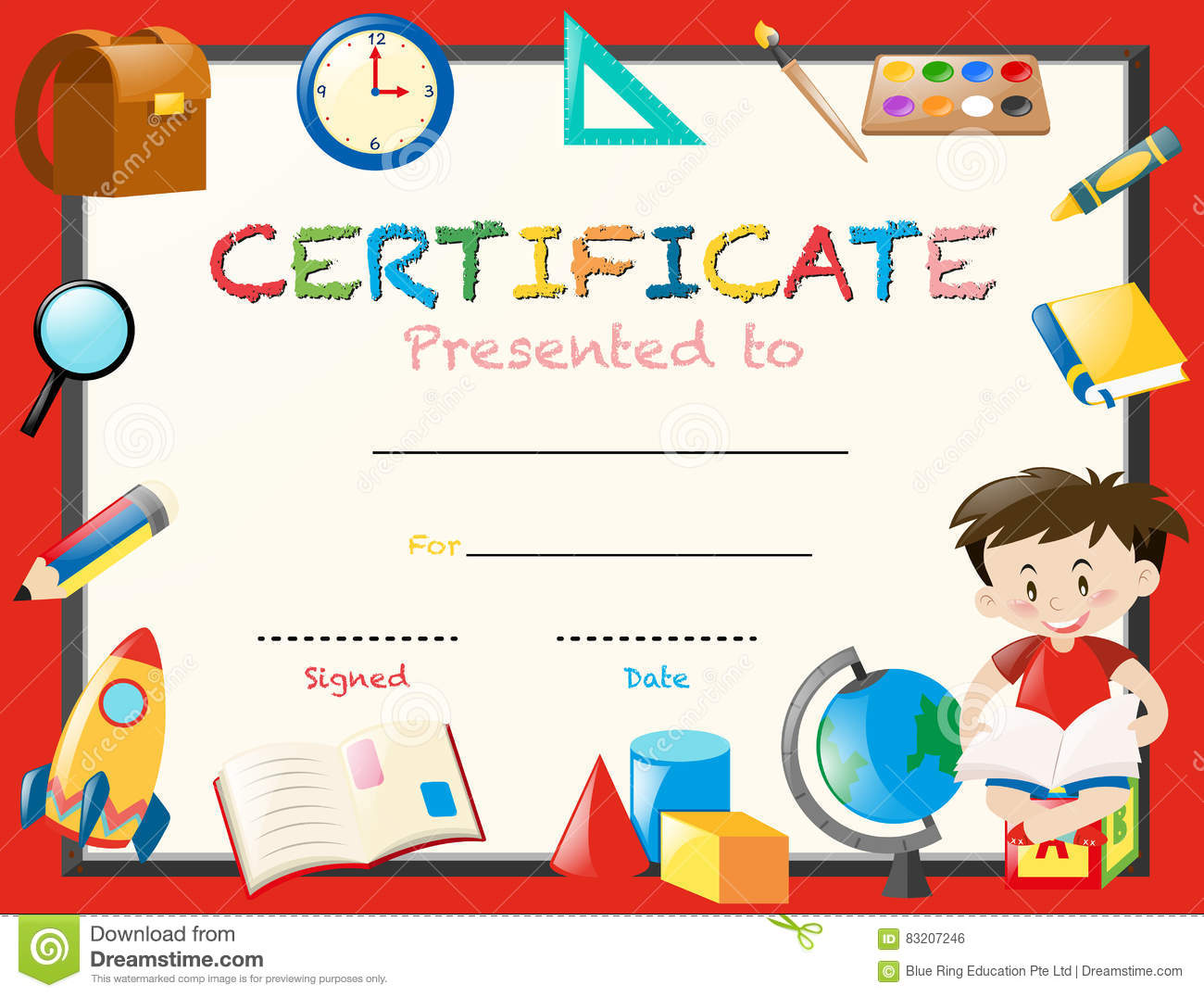 Reading award certificate template with bird reading book cartoon reading award certificate template with bird reading book cartoon vector cartoondealer 87801227 1betcityfo Choice Image