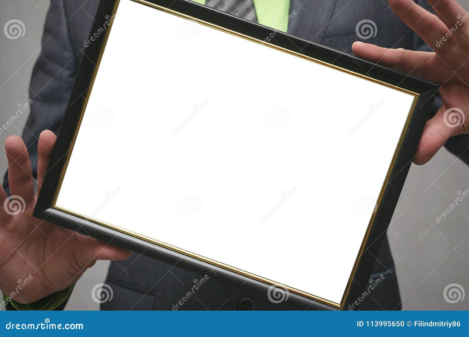 Certificato del diploma di migliore derisione del responsabile o del lavoratore su Chiuda sulla foto