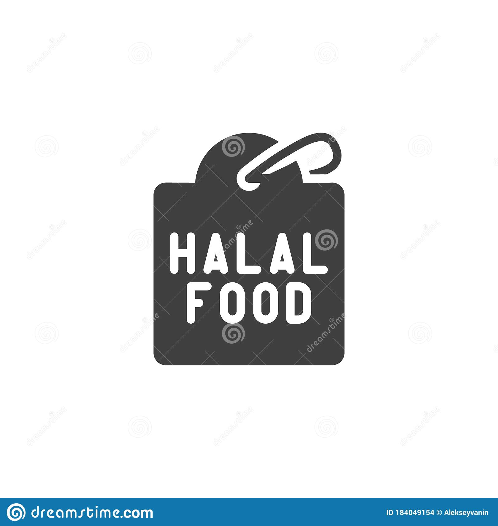 certified halal food tag vector icon stock vector illustration of perfect text 184049154 certified halal food tag vector icon stock vector illustration of perfect text 184049154