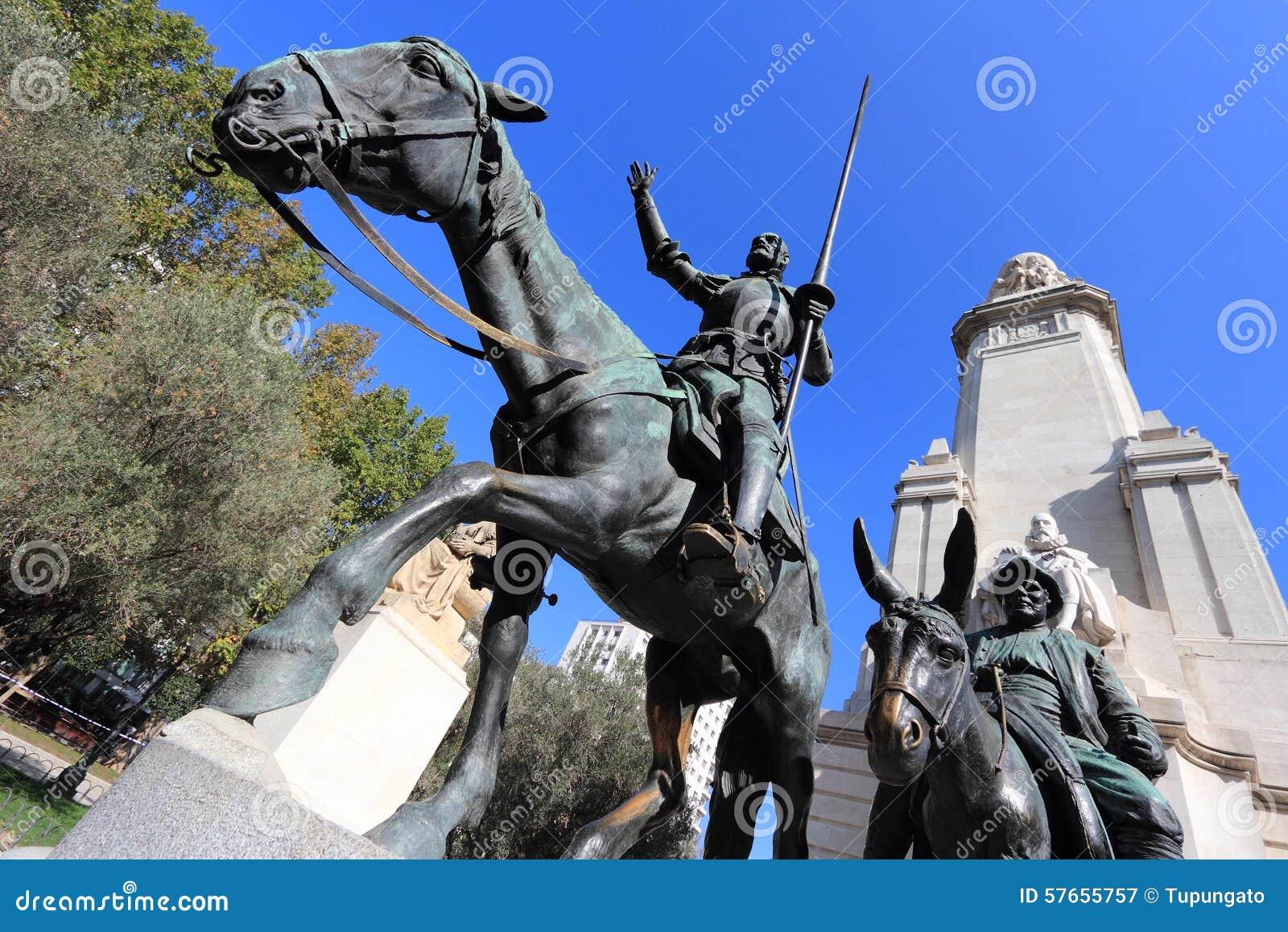 Cervantes zabytek, Madryt