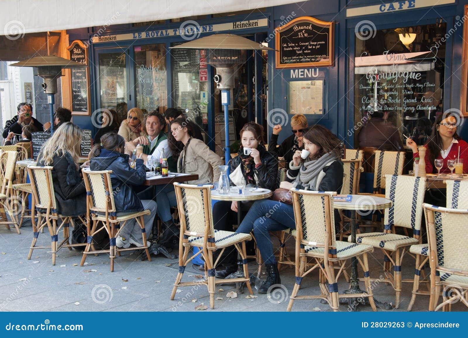 Cervecería en París