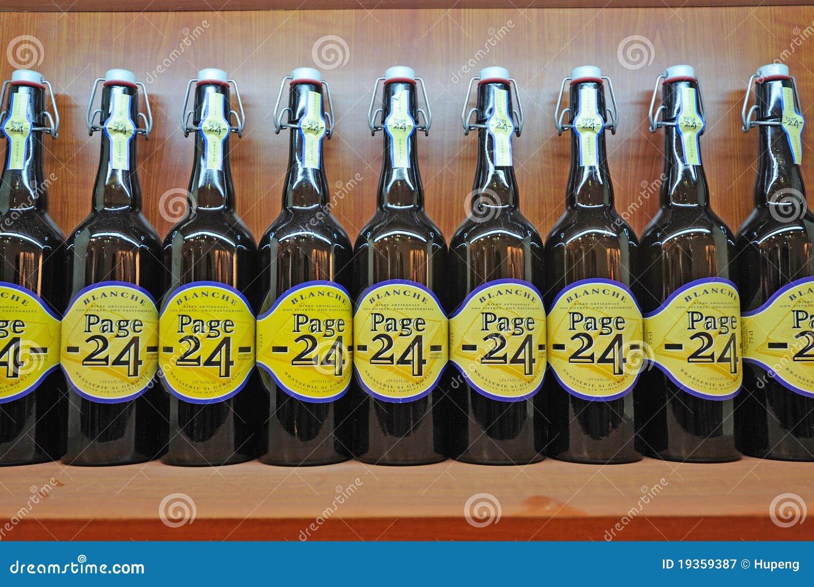 Cerveja da página 24 de Blanche