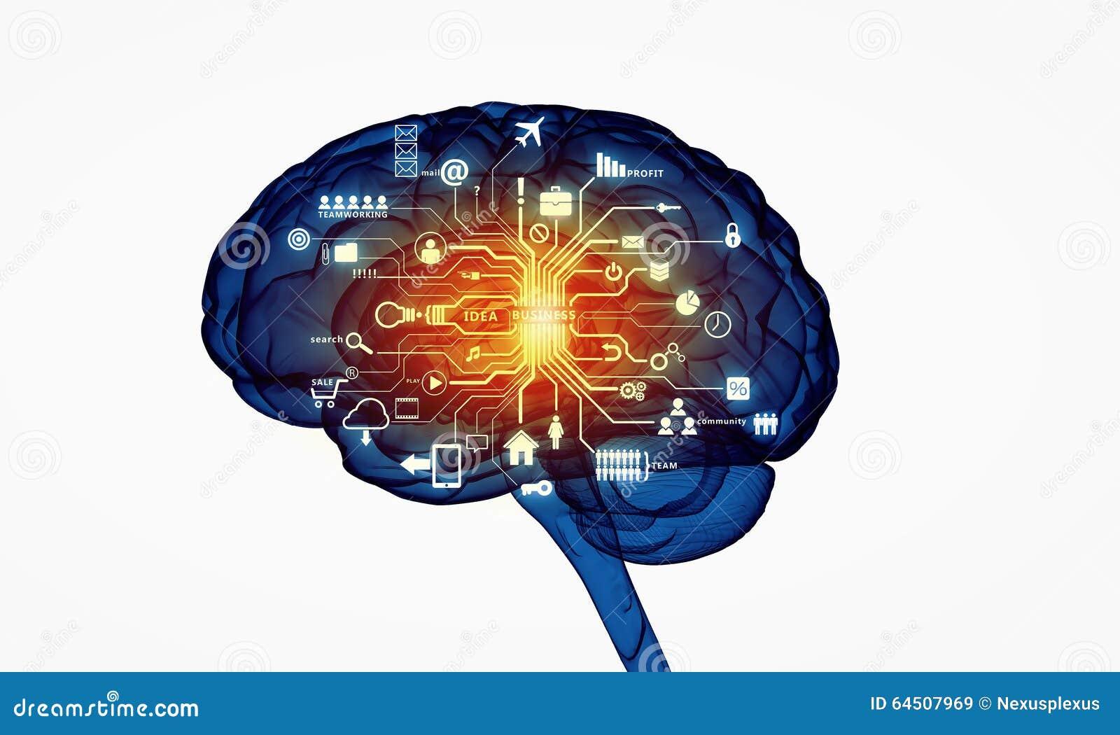 Cervello umano di Digital