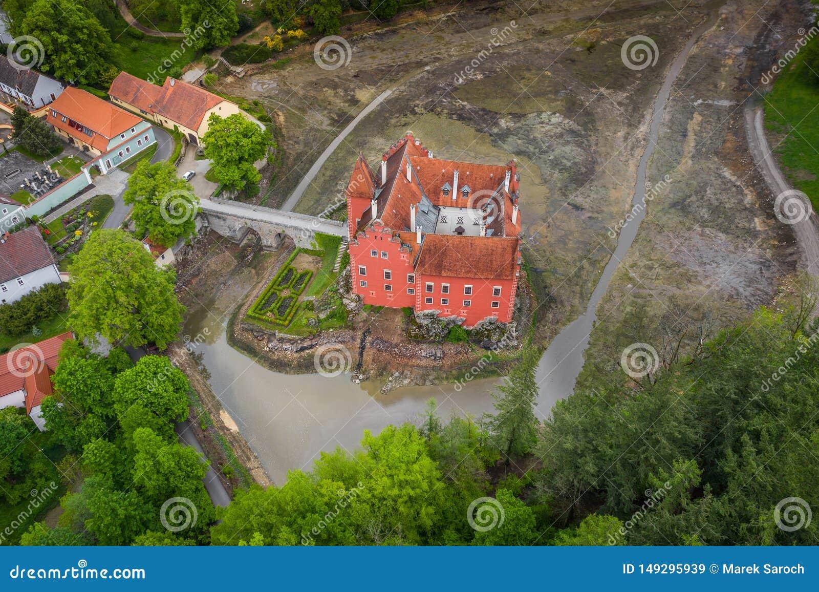 Cervena Lhota in Czech Republic