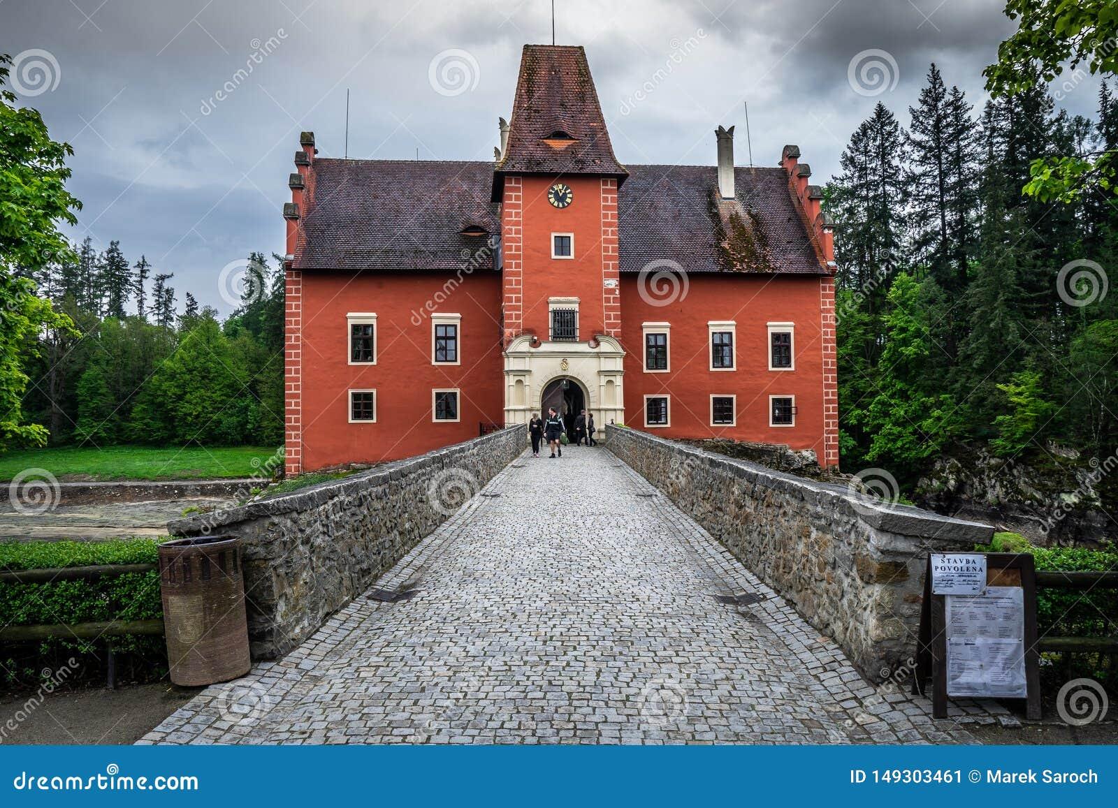 Cervena Lhota in der Tschechischen Republik