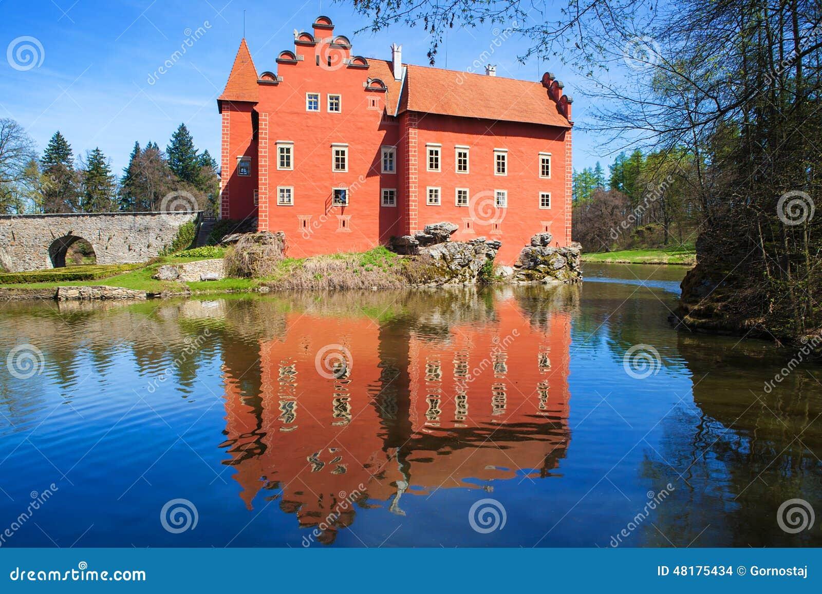 Cervena Lhota slott, tjeckisk republik