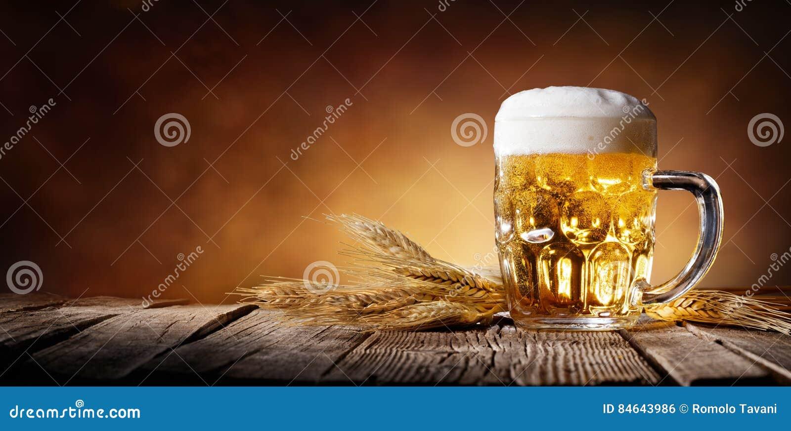 Cerveza con trigo