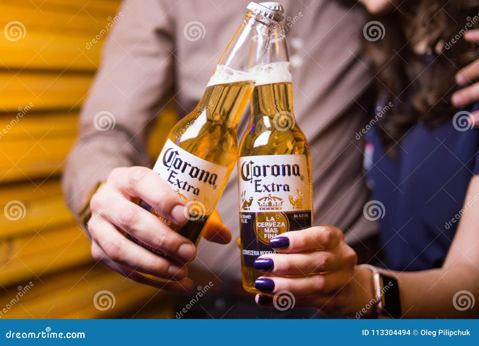 Cerveza de Corona Extra
