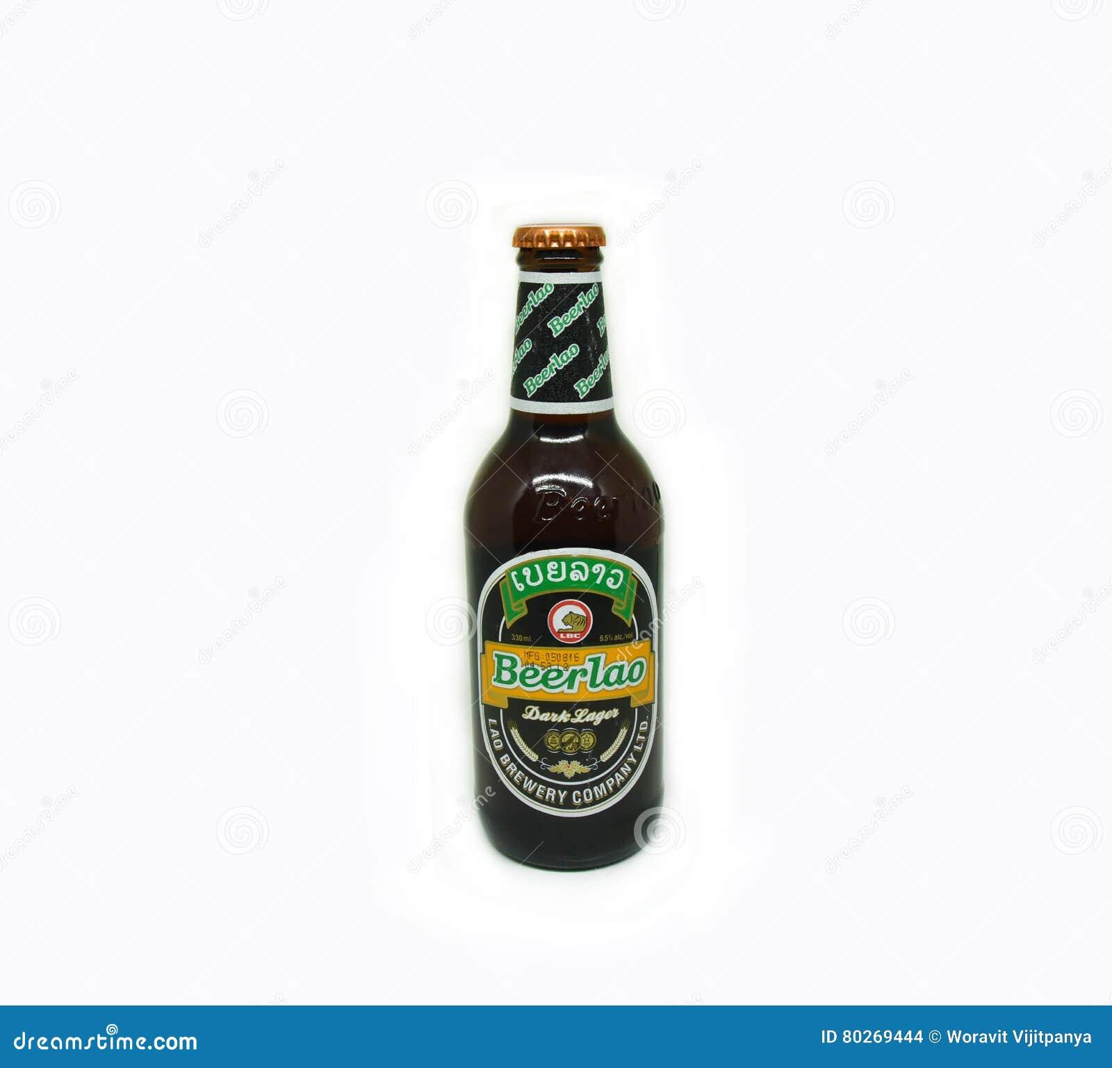 Cerveza Lao Dark Lager