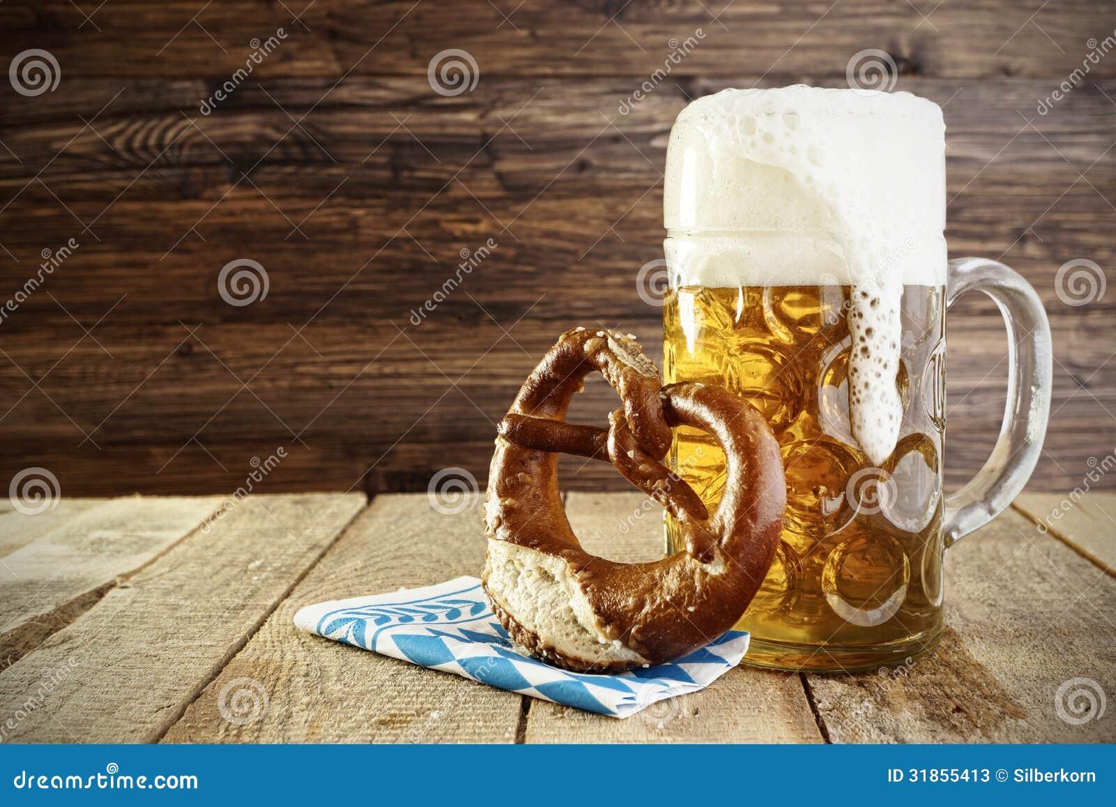 Cerveza y pretzel, Oktoberfest