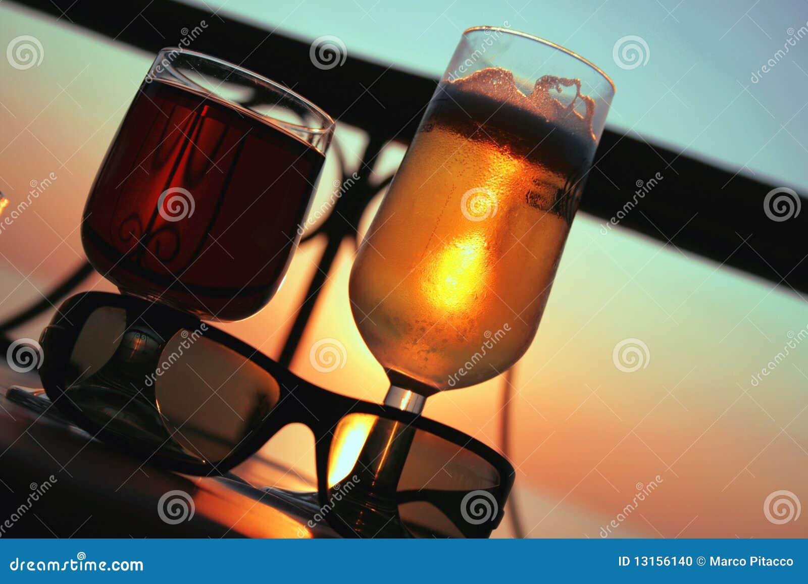 Cerveza y vino